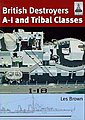 Shipcraft- British Destroyers A-I & Tribal Classes (Re-Issue) -- Military History Book -- #sc11