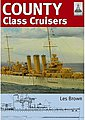 Shipcraft- County Class Cruisers -- Military History Book -- #sc19