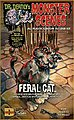 Feral Cat -- Plastic Model Fantasy Figure -- 1/13 Scale -- #712