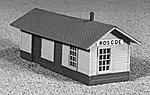Class D3 Station 10.5x34' - N-Scale