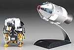 NASA Apollo 11 Lunar Approach Columbia/Eagle -- Diecast Model Spacecraft -- 1/72 -- #50375
