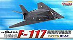 F-117 Nighthawk 37TFW -- Diecast Model Airplane -- 1/144 Scale -- #51019