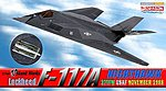 Lockheed F-117A 37TFW USAF -- Diecast Model Airplane -- 1/144 Scale -- #51051