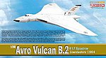 Avro Vulcan B.2 617sqdn -- Diecast Model Airplane -- 1/200 Scale -- #52007
