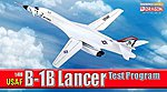 USAF B-1B Lancer Test Program -- Diecast Model Airplane -- 1/400 Scale -- #56310