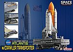 Space Shuttle Atlantis -- Diecast Model Spacecraft -- 1/400 Scale -- #56392