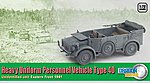 Heavy Uniform Personnel V -- Diecast Model Personnel Carrier -- 1/72 Scale -- #60430