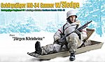 Jurgen Kleinheinz -- Plastic Model Military Figure Kit -- 1/6 Scale -- #70476