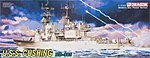 USS Cushing DD-985 -- Plastic Model Destroyer -- 1/350 Scale -- #1020