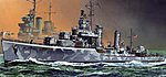 USS Buchanan DD-484 1942 Smart Kit -- Plastic Model Destroyer Kit -- 1/350 Scale -- #1021