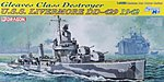USS Livermore Gleaves Class DD429 Destroyer 1942 -- Plastic Model Military Ship -- 1/350 -- #1027