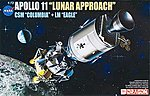 Apollo 11 Lunar Approach -- Space Program -- Plastic Model Kit -- 1/72 Scale -- #11001