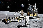 Apollo 17 The Last J-Mission -- Space Program -- Plastic Model Kit -- 1/72 Scale -- #11015