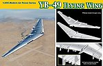 YB49 Flying Wing Proto-Type Heavy Bomber -- Plastic Model Airplane Kit -- 1/200 Scale -- #2012