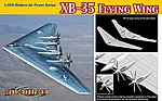 XB35 Flying Wing USAF Experimental Heavy Bomber -- Plastic Model Airplane Kit -- 1/200 -- #2017