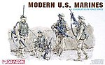 Modern US Marines (4) -- Plastic Model Military Figure -- 1/35 Scale -- #3027