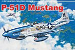 P-51D Mustang 1st -- Plastic Model Airplane Kit -- 1/32 Scale -- #3201