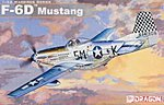 F-6D Mustang -- Plastic Model Airplane Kit -- 1/32 Scale -- #3202