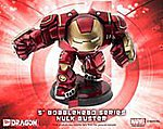 6'' Bobblehead Age of Ultron Hulk Buster -- Plastic Model Comic Book Figure -- #36015