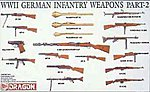 German Infantry Weapons -- Plastic Model Weapon Kit -- 1/35 Scale -- #3816