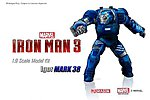 Iron Man 3 Mark XXXVIII Igor Model Kit -- Plastic Model Comic Book Figure -- 1/9 Scale -- #38334