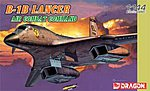 B1B Lancer ACC Bomber -- Plastic Model Airplane Kit -- 1/144 Scale -- #4587