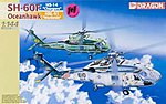 Seahawk SH-60F+SH-60I VIP (2) -- Plastic Model Helicopter Kit -- 1/144 Scale -- #4601