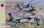 USN MH60S HSC23 Wild Cards & HSC21 Black Jacks -- Plastic Model Helicopters -- 1/144 Scale -- #4616
