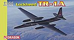 Lockheed TR-1A (U-2) -- Plastic Model Airplane Kit -- 1/144 Scale -- #4640