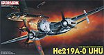 He219A/0 UHU Aircraft -- Plastic Model Airplane Kit -- 1/72 Scale -- #5005