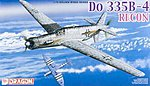 Do335B4 Recon Aircraft -- Plastic Model Airplane Kit -- 1/72 Scale -- #5033