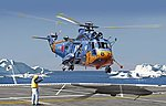 S61A Sea King Antarctica Observation Helicopter -- Plastic Model Helicopter -- 1/72 Scale -- #5111