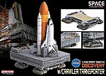 NASA Space Shuttle Discovery w/Crawler Transporter -- Space Program -- 1/400 Scale -- #56391