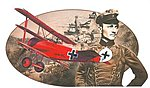 Fokker Dr.I Red Baron Knights Sky Collection -- Plastic Model Airplane Kit -- 1/48 Scale -- #5903