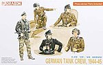 German Tank Crew 1944-45 (5) (Re-Issue) -- Plastic Model Military Figure -- 1/35 Scale -- #6014