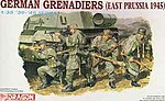 German Grenadiers E Prussia '45 -- Plastic Model Military Figure Kit -- 1/35 Scale -- #6057