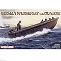 German Sturmboat -- Plastic Model Military Ship Kit -- 1/35 Scale -- #6108