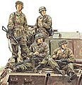 3rd Fallschirmjager Div Pt1 Ardennes 1944 -- Plastic Model Military Figure -- 1/35 Scale -- #6113