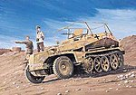 SdKfz 250/3 Greif German Halftrack -- Plastic Model Military Vehicle Kit -- 1/35 Scale -- #6125