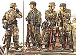 3rd Fallschirmjager Div Pt2 Ardennes 1944 -- Plastic Model Military Figure -- 1/35 Scale -- #6143