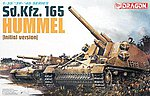 SdKfz 165 Hummel Early Tank -- Plastic Model Tank Kit -- 1/35 Scale -- #6150
