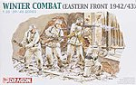 Winter Combat Eastern Front 1942/43 -- Plastic Model Military Figure -- 1/35 Scale -- #6154