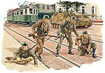 Panzergrenadiers Arnhem 1944 -- Plastic Model Military Figure Kit -- 1/35 Scale -- #6161