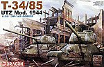 T-34/85 Utz Mod. 1944 -- Plastic Model Military Vehicle Kit -- 1/35 Scale -- #6203