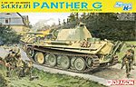 SdKfz 171 Panther G Late Tank -- Plastic Model Tank Kit -- 1/35 Scale -- #6268