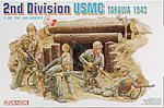USMC 2nd Division Tarawa 1943 -- Plastic Model Military Figure -- 1/35 Scale -- #6272