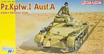 PzKpfw I Ausf A Early Tank -- Plastic Model Military Vehicle Kit -- 1/35 Scale -- #6289