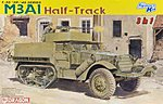 M3A1 Halftrack (3 in 1) -- Plastic Model Military Vehicle Kit -- 1/35 Scale -- #6332