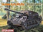 KPzSfl IVa Dicker Max Tank w/10.5cm Gun -- Plastic Model Tank Kit -- 1/35 -- #6357