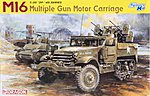 M16 Multiple Gun Motor Carriage Vehicle -- Plastic Model Military Vehicle Kit -- 1/35 Scale -- #6381